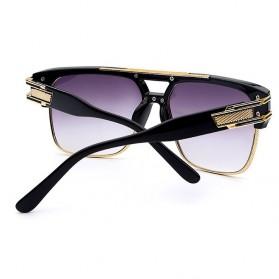XIU Kacamata Wanita Anti UV - 9-1-6626 - Black/Silver - 4