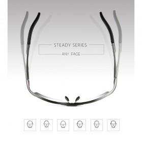 Kacamata Komputer Anti Radiasi UV - 98084J - Black - 3