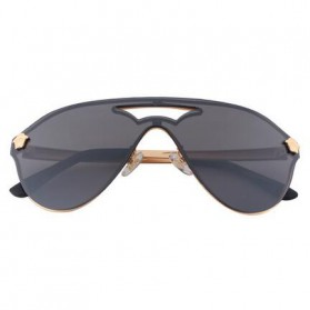 Kacamata Wanita Anti UV Star Model - Golden/Gray - 2