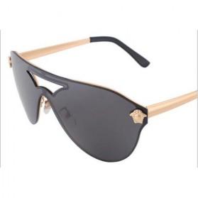 Kacamata Wanita Anti UV Star Model - Golden/Gray - 3