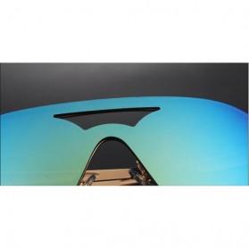 Kacamata Wanita Anti UV Star Model - Golden/Gray - 5