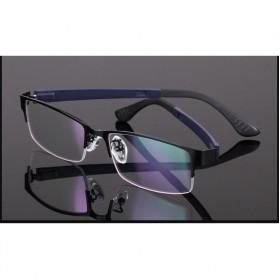 Frame Kacamata Half Frame - Black - 9