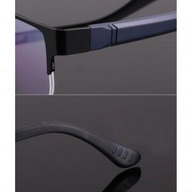 Frame Kacamata Half Frame - Black - 11