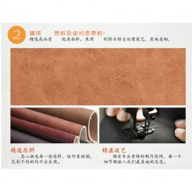 Hengsheng Dompet Pria Model Panjang - MWS064 - Black - 6