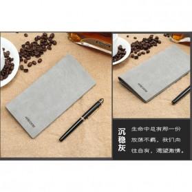 Hengsheng Dompet Pria Model Panjang - MWS064 - Gray - 8