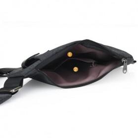 Tas Selempang Crossbody Bag Multifungsi Bahu Kanan - 6016 - Dark Gray - 5