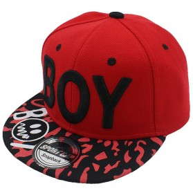 BOY Topi Snapback Anak - Red