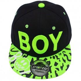 BOY Topi Snapback Anak - Green - 2