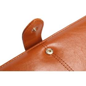 Dompet Wanita Model Kulit - Brown - 2