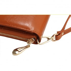 Dompet Wanita Model Kulit - Brown - 3