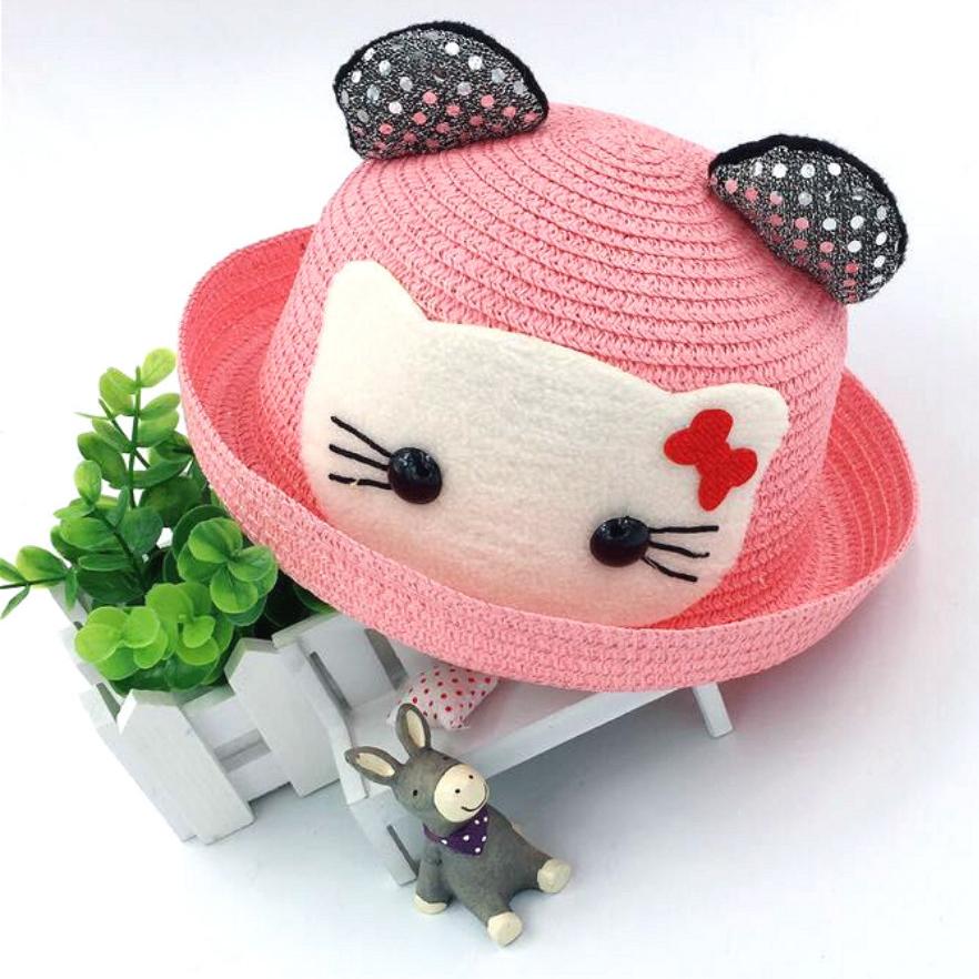 Topi Laken Wanita Hello Kitty - Pink - JakartaNotebook.com 5373f431c1