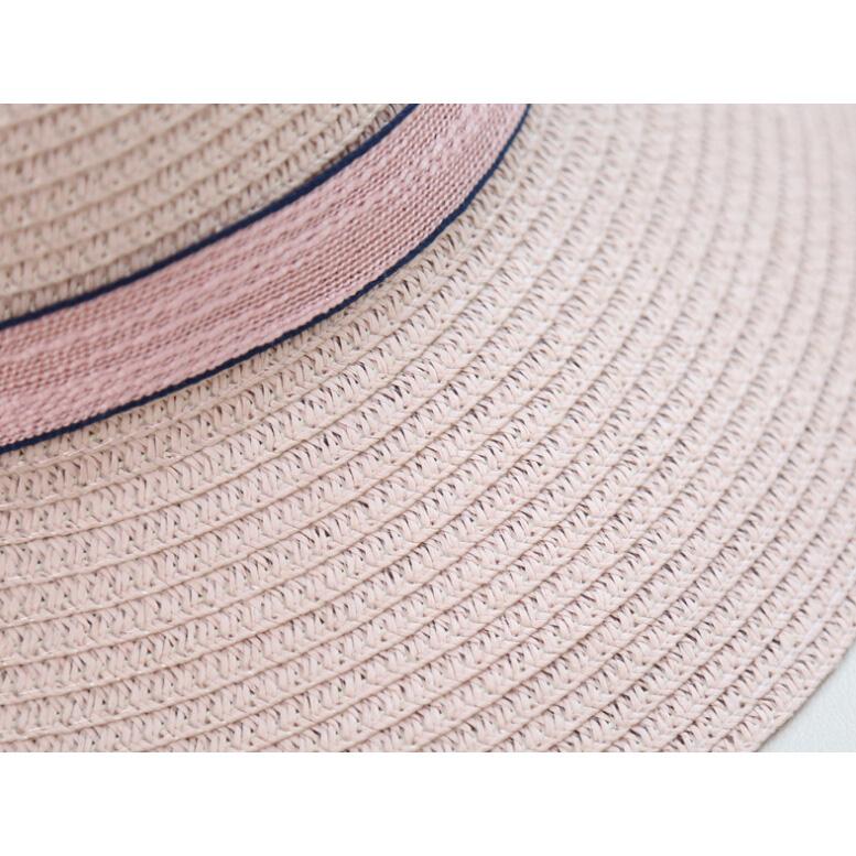 ... Topi Pantai Wanita Anti UV Elegant Summer Style - Beige - 3 ... 8ed5449de3