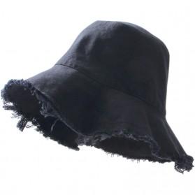 Topi Musim Panas Wanita / Pria - Black