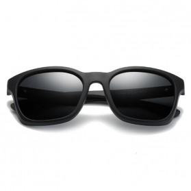 Kacamata Pria Sunglasses Polarized Anti UV400 - TR90 - Black - 2