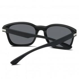 Kacamata Pria Sunglasses Polarized Anti UV400 - TR90 - Black - 3