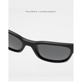 Kacamata Pria Sunglasses Polarized Anti UV400 - TR90 - Black - 5