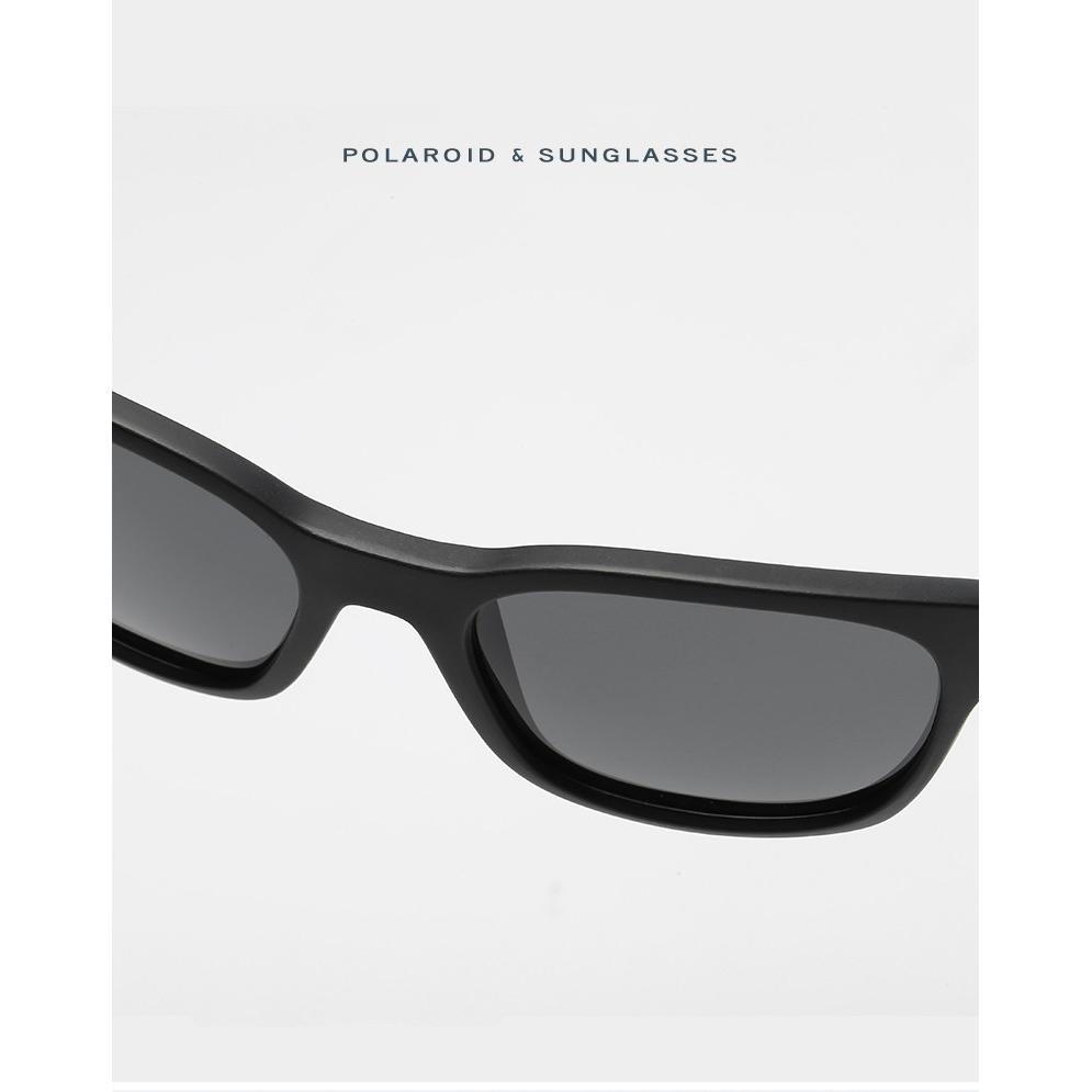 ... Kacamata Pria Sunglasses Polarized Anti UV400 - Blue - 5 ... 0b0a21ba29
