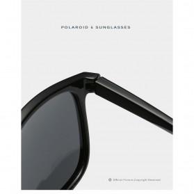AOFLY Kacamata Pria Sunglasses Polarized Anti UV - MD-6190 - Black - 6
