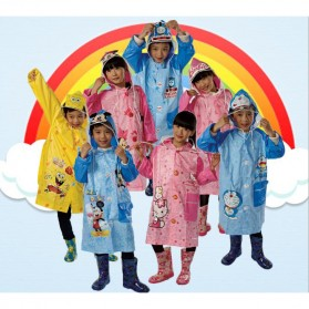 Jas Hujan Anak Size M - Pink - 3
