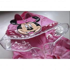 Jas Hujan Anak Size L - MK - Pink - 2