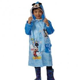 Jas Hujan Anak Size L - MK - Blue