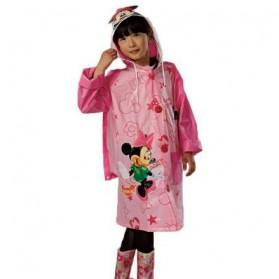Jas Hujan Anak Size XL - Pink