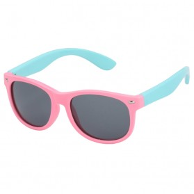 Kacamata Anak Frame Silicone Polarized UV400 - Pink