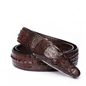 Ikat Pinggang 3D Model Crocodile - Black - 2