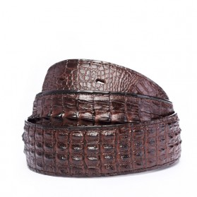 Ikat Pinggang 3D Model Crocodile - Black - 4