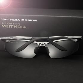 Veithdia Kacamata Pria UV Polarized - 6529 - Black - 4