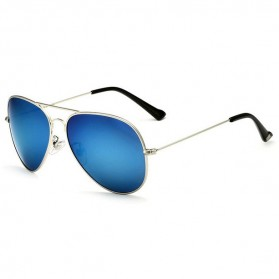 Veithdia Kacamata Pria Aviator UV Polarized - Blue