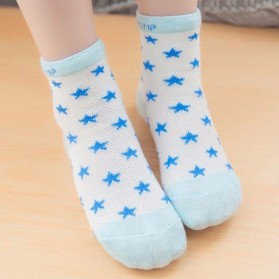 Kaos Kaki Anak Toddler Socks Size L - 5 Pair - Blue