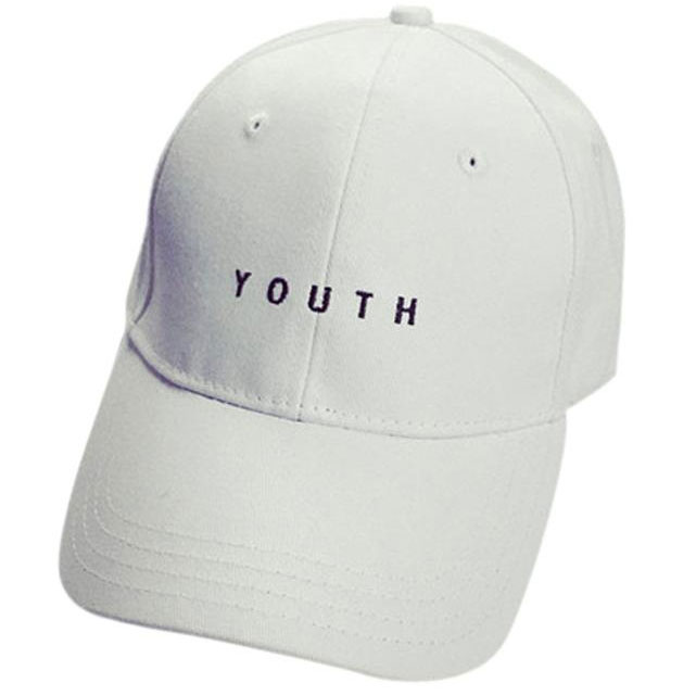 ... Topi Baseball Youth Caps Letter Sport Fashion - White - 1 ... d48495692a