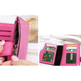Dompet Kartu Clutch Bags Wanita - Pink - 4