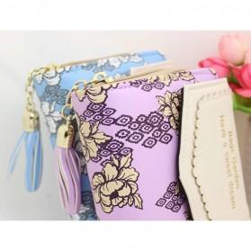 Dompet Wanita Floral Pattern - WW03194 - Pink - 7