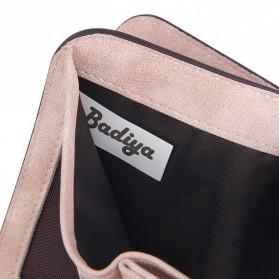 Dompet Wanita Kecil Lipat Matte Vintage Wallet - Pink - 5