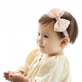 Bando Bayi Pita Korea Headband Style - Pink