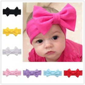 Bando Bayi Newborn Lucu Model Pita - Pink