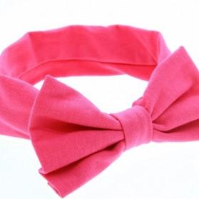 Bando Bayi Newborn Lucu Model Pita - Pink - 4