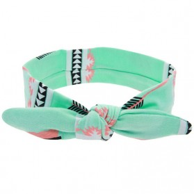 Bando Bayi Newborn Lucu Model Bunny Ear - Green