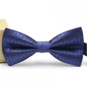 Dasi Kupu-Kupu Elegan - Navy Blue