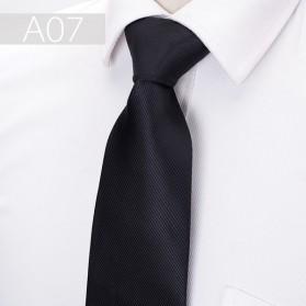 Dasi Kantor Formal Pria Silk Tie - Black