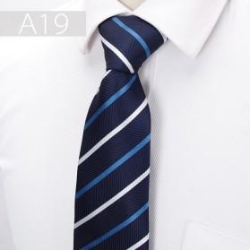 Dasi Kantor Formal Pria Silk Tie - Dark Blue