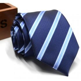 Dasi Kantor Formal Pria Silk Tie - Blue