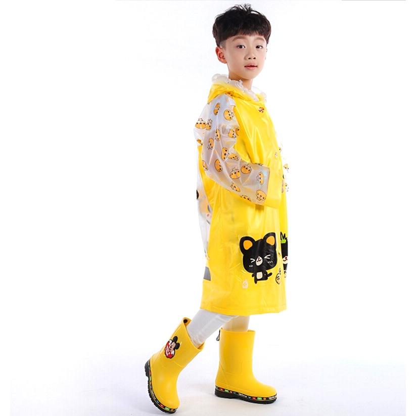 Jas Hujan Anak Motif Kartun Size M Yellow Jakartanotebook Com