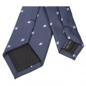 Set 3 in 1 Dasi Kupu-Kupu + Dasi Formal + Sapu Tangan Handkerchief - Light Blue - 5