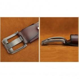 Craftman Tali Ikat Pinggang Kulit Klasik Luxury - B1029 - Black - 5