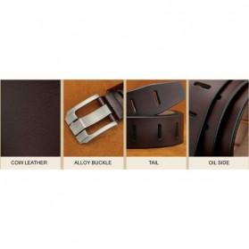 Craftman Tali Ikat Pinggang Kulit Klasik Luxury - B1029 - Black - 8