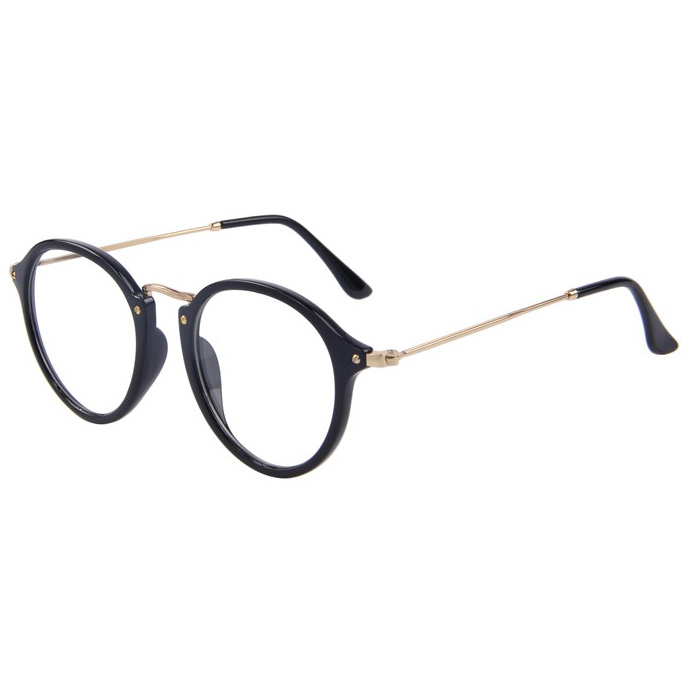 ... Kacamata Model Vintage Pria   Wanita - SP2030 - Black - 2 ... ec6357a3ed