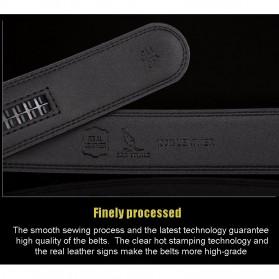 SANVITALE Tali Ikat Pinggang Kulit dengan Automatic Buckle - 1430 - Black - 8